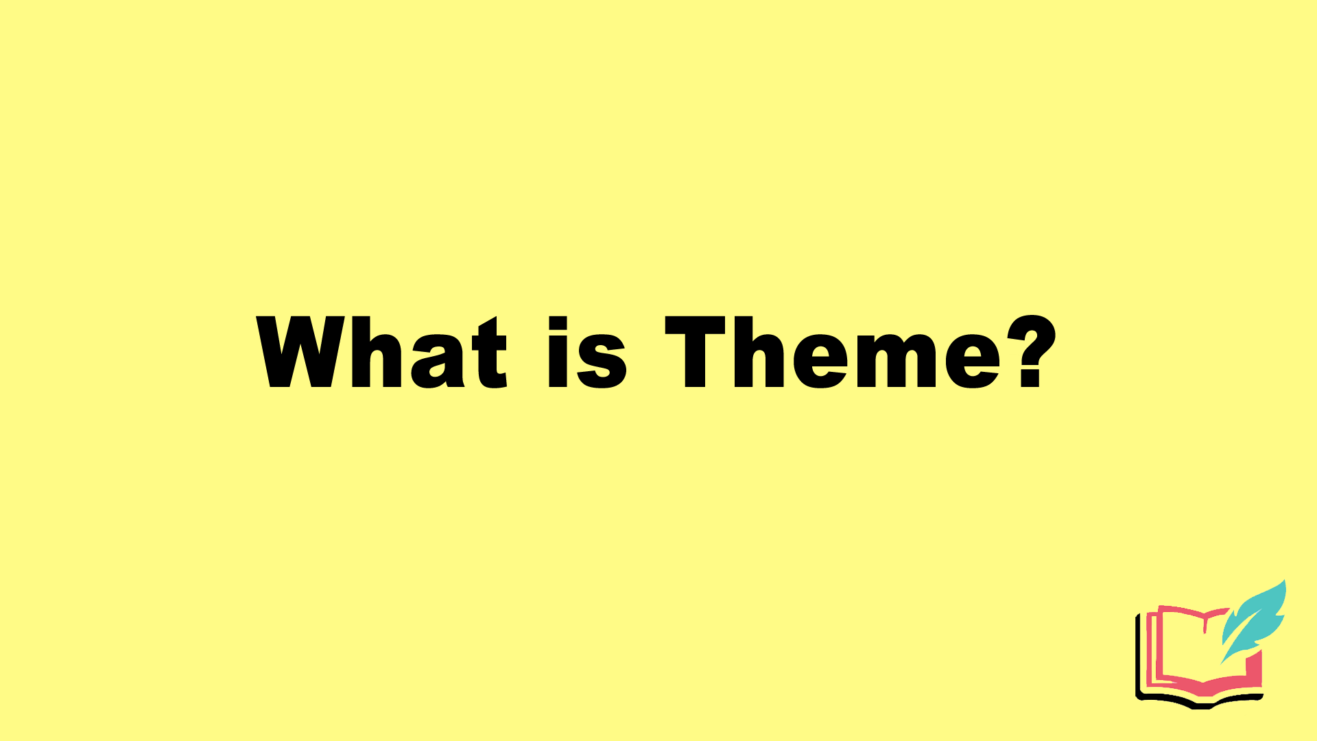 what is theme in literature