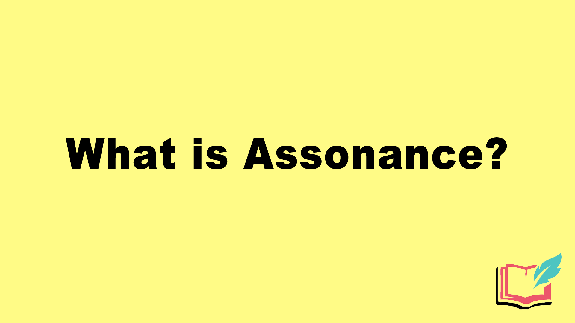 what is assonance literary term