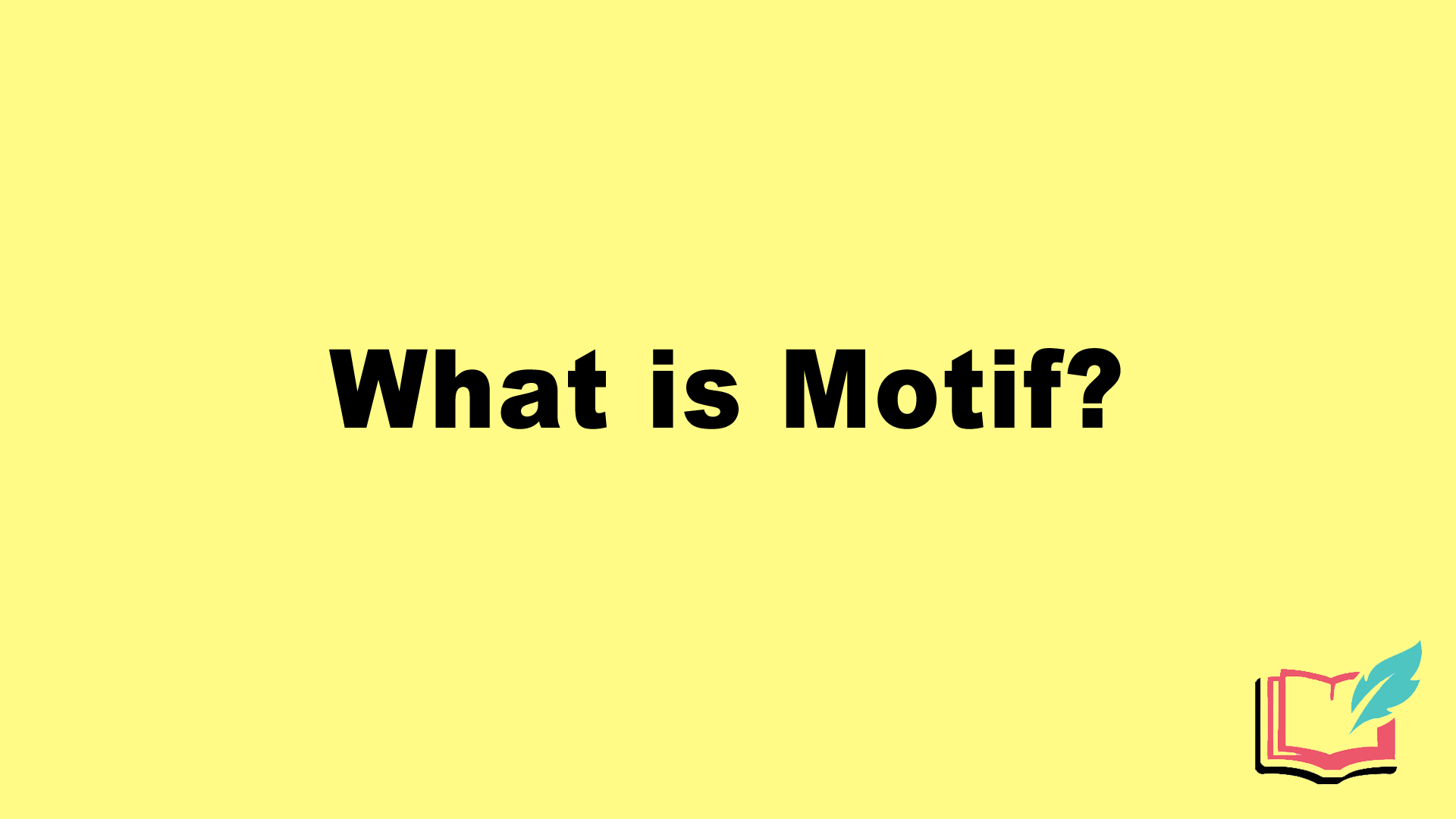 what is motif