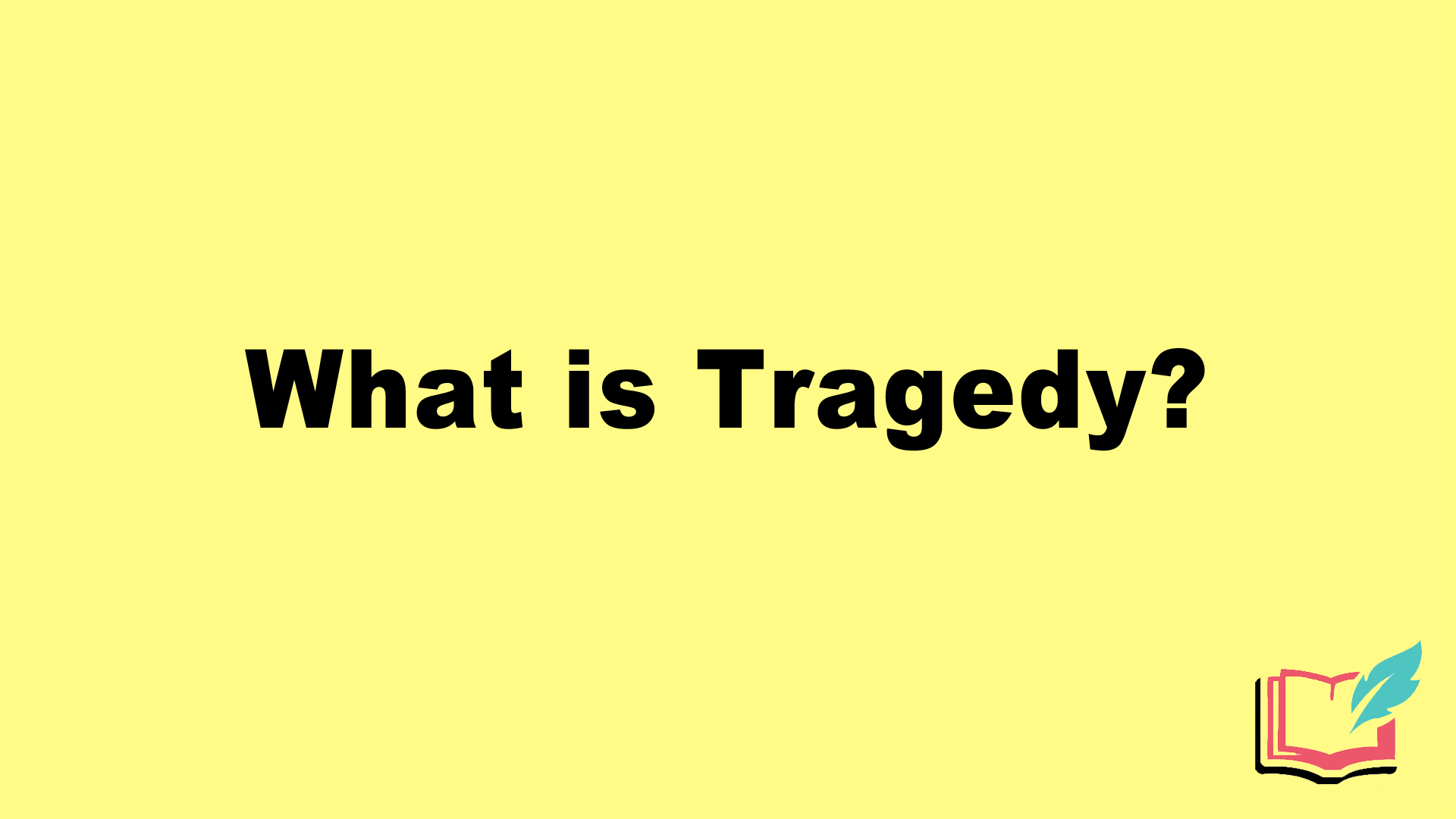 what is tragedy