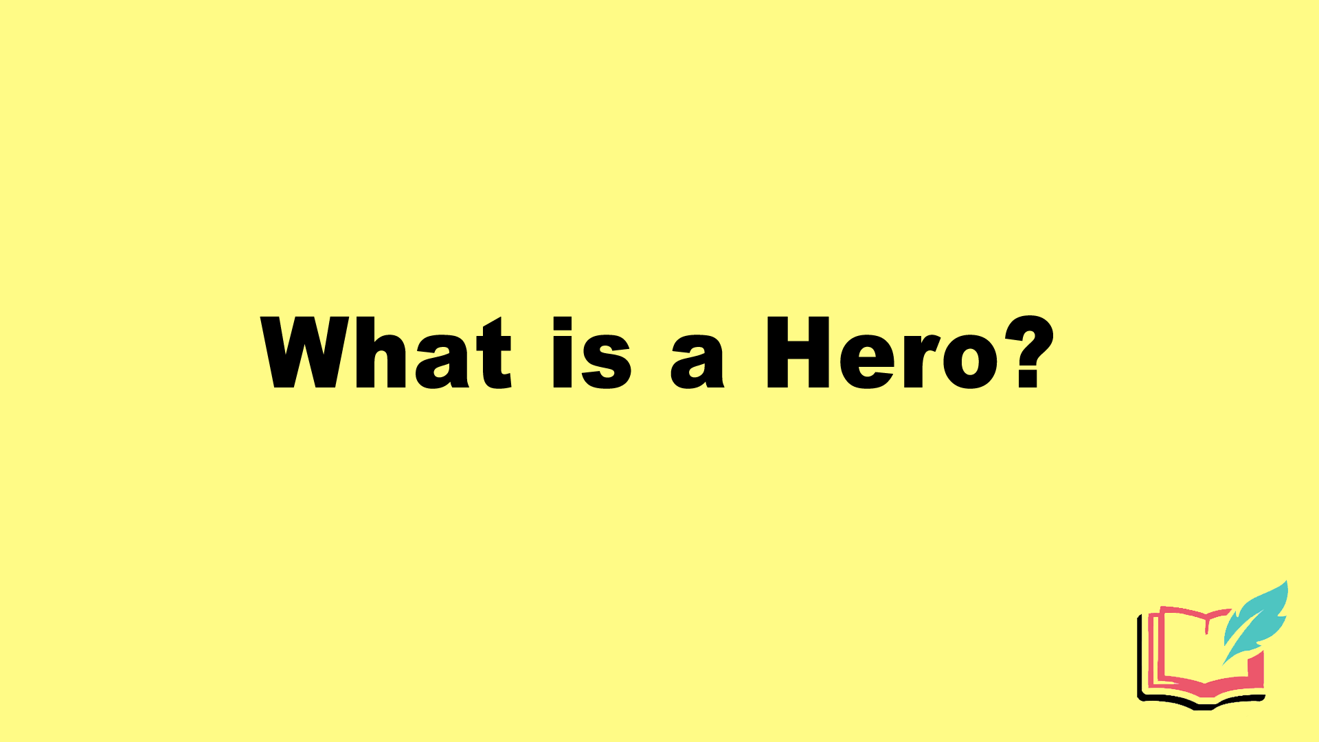what is a hero in literature