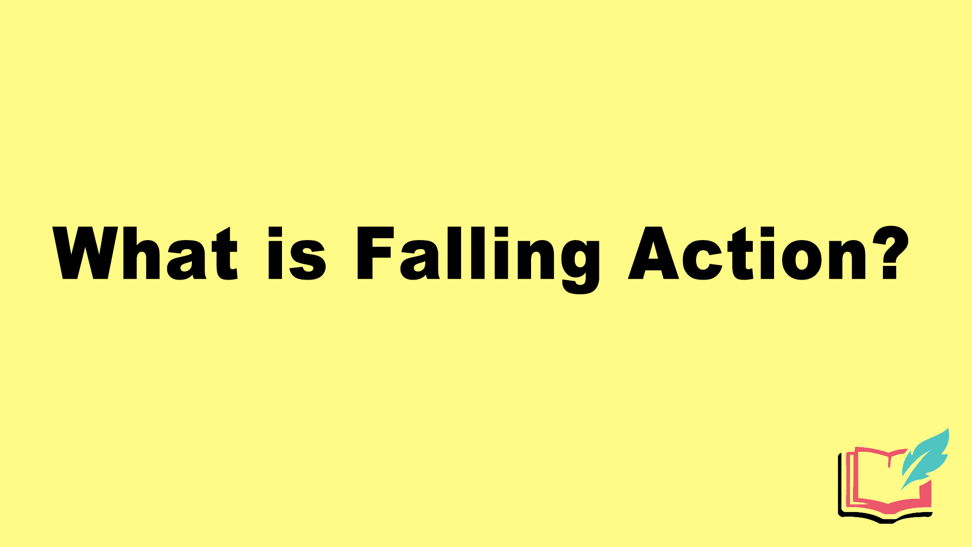 what is falling action in literature
